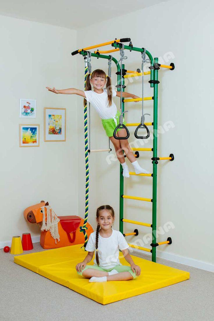 Шведская стенка для детей в квартиру и дом. Купить в Бишкеке, цена – Romana