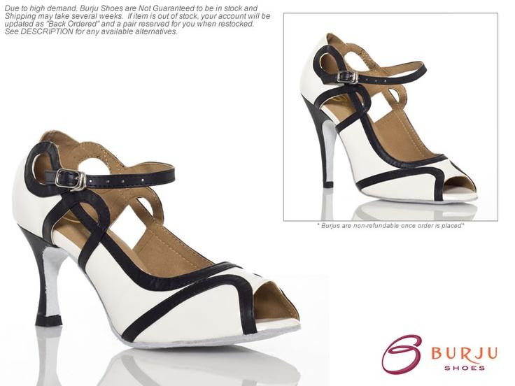 Burju Dance Shoes: Melissa Rosado While Stilettos