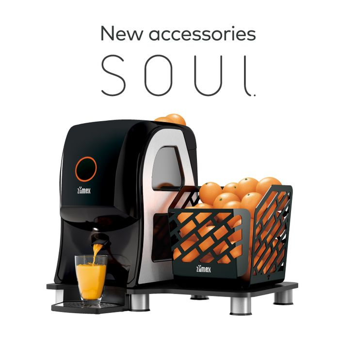 #Soul, the most compact #Zumex juicer, arrives with the coolest accessories! Enjoy the essence of a perfect #juice and turn your workspace into a more practical, elegant and distinguished place :)  Find out more on our website: http://www.zumex.com/en/2564/soul.html