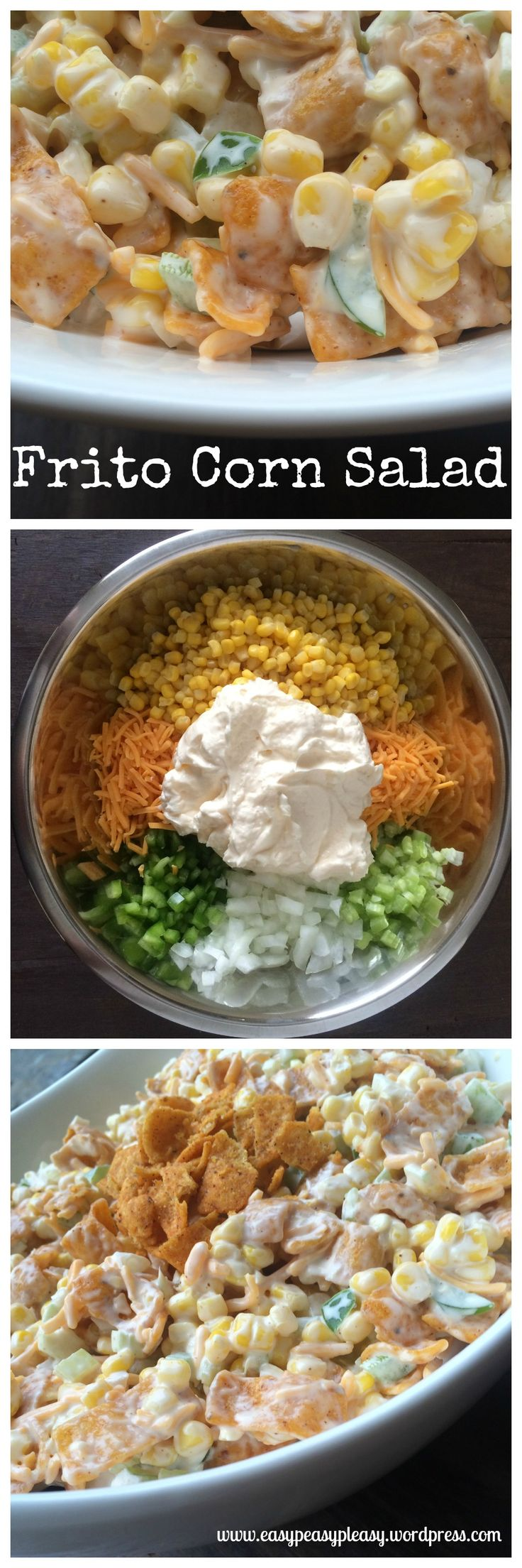 ... ideas about Corn Chip Salad on Pinterest | Corn Chips, Salad and