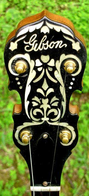 prewar gibson banjo - Google Search