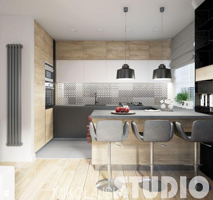 designed kitchen - zdjęcie od MIKOŁAJSKAstudio - Kuchnia - Styl Nowoczesny - MIKOŁAJSKAstudio