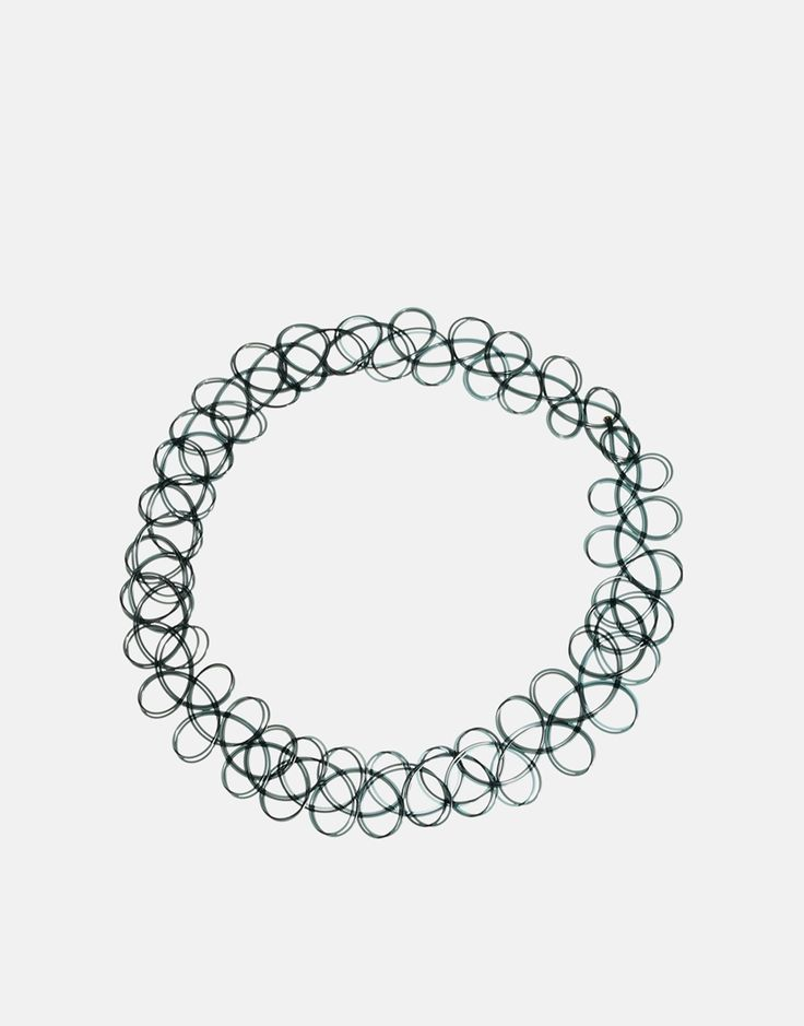 ASOS '90s Tattoo Choker Necklace