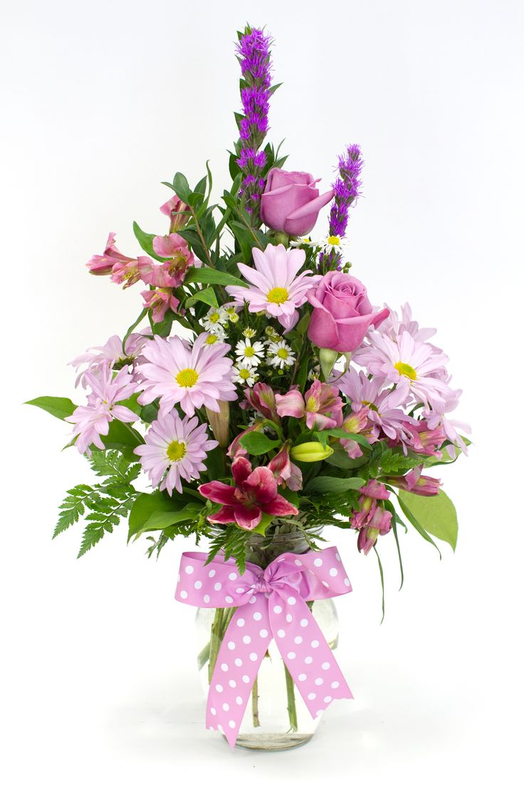 Best 20 same day flower delivery ideas on pinterest modern valentines day flirty polka dot flowerama columbus columbus florist same day flower dhlflorist Images