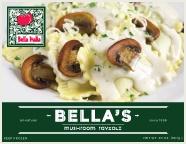 Bella Italia Restaurant, Port Angeles: Orders can now be placed online to have Mushroom Ravioli sent via FedEx. $21.98