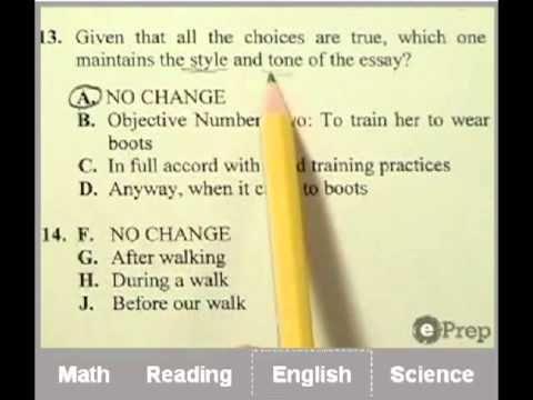 ACT Practice Test | Online | ePrep