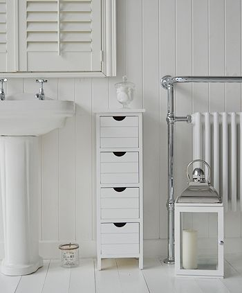 Luxury Chic Narrow Bathroom Cabinet  336510  Home Design Ideas