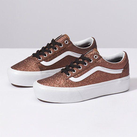 Vans | Glitter vans, Shoes, Vans