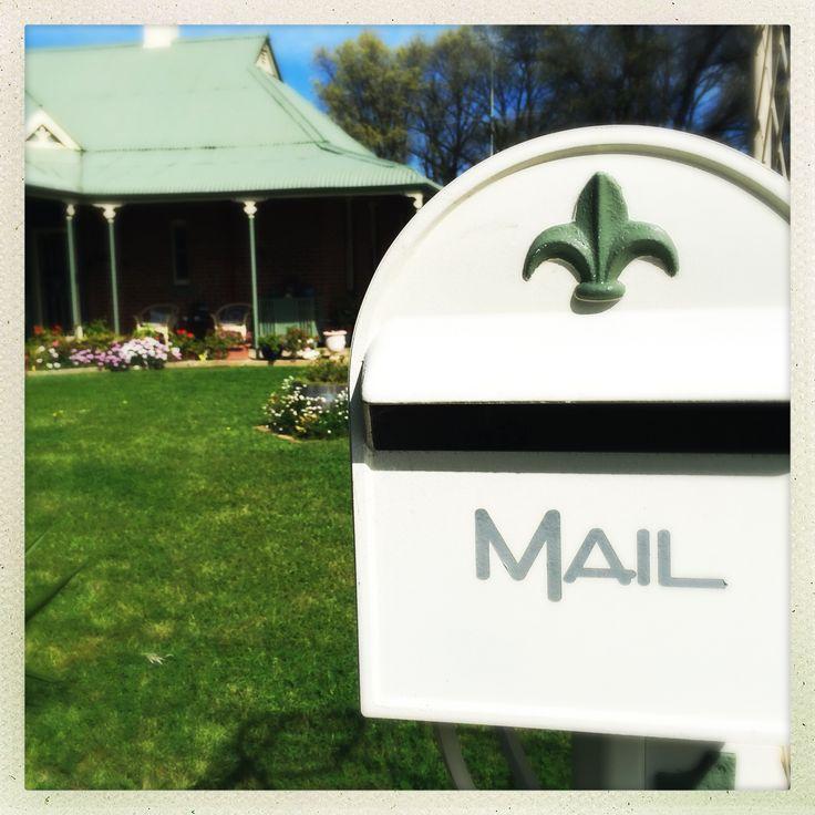 Mail box, rural Australia