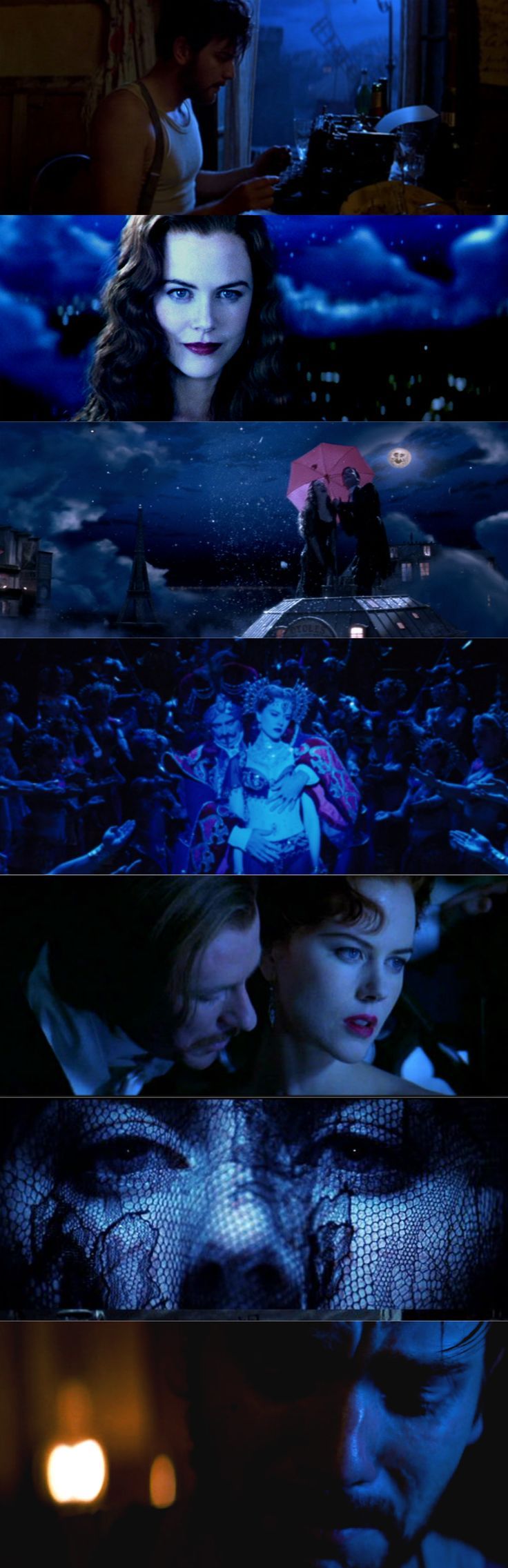 Moulin Rouge / Blues (2001), d. Baz Luhrmann, d.p. Donald McAlpine