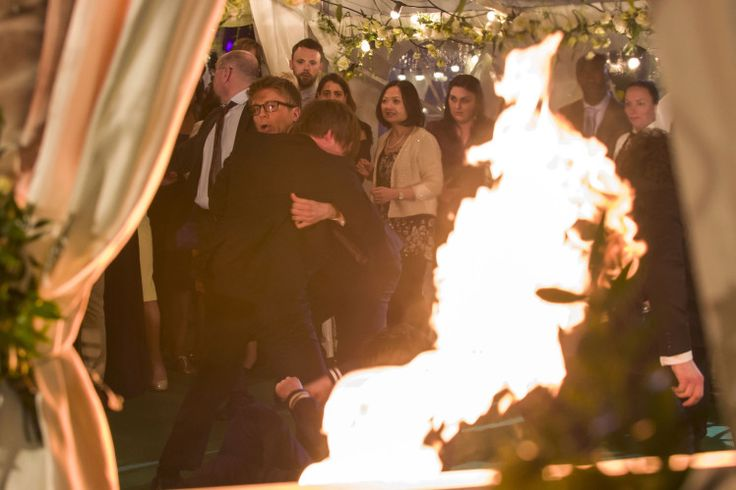 Casualty spoilers: Double episode finale sees wedding explosion horror for Zoe Hanna and Max Walker