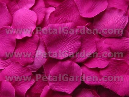 Leather Accent Tag - Fuchsia Petals on Pink by VIDA VIDA QCt1IMq