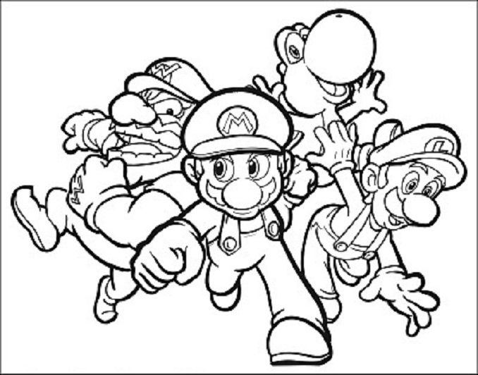 13 best Dibujos para colorear de Mario Bros images on Pinterest