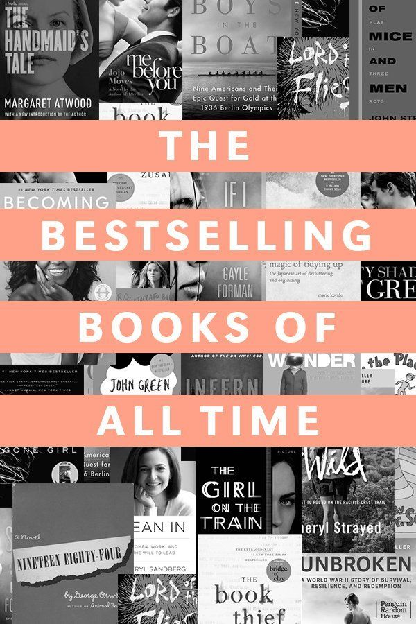 The Bestselling Books Of All Time Bestselling Books Classic