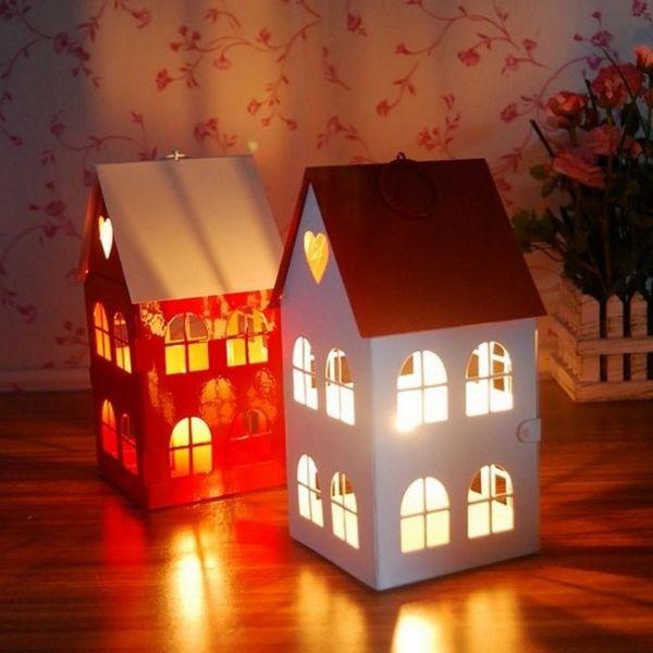 Подвесные фонарики для свечей: украшаем веранду, балкон, сад и комнаты в квартире. 27 фото. Фото | Детали интерьера