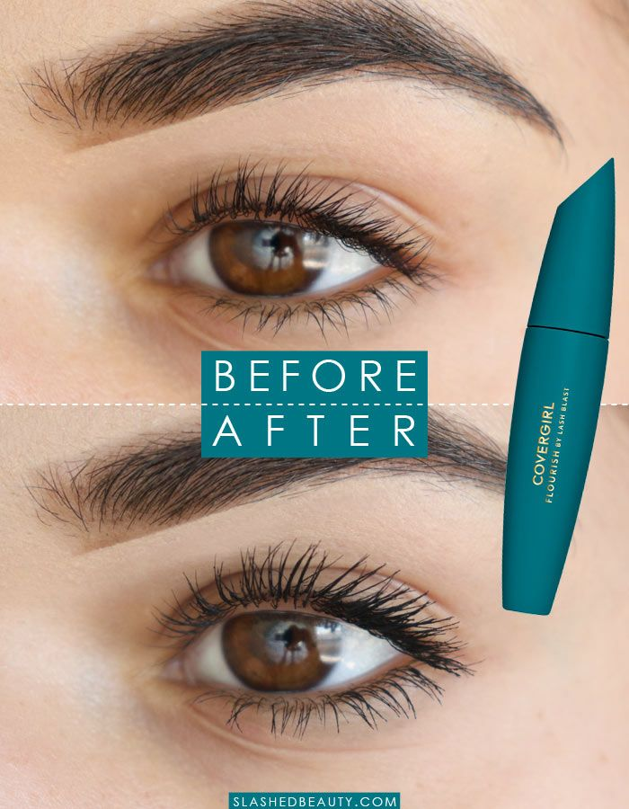 889f4b06db9 See the effect of the new COVERGIRL Flourish by Lash Blast mascara. It's a  new drugstore mascara favorite!   Slashed Beauty