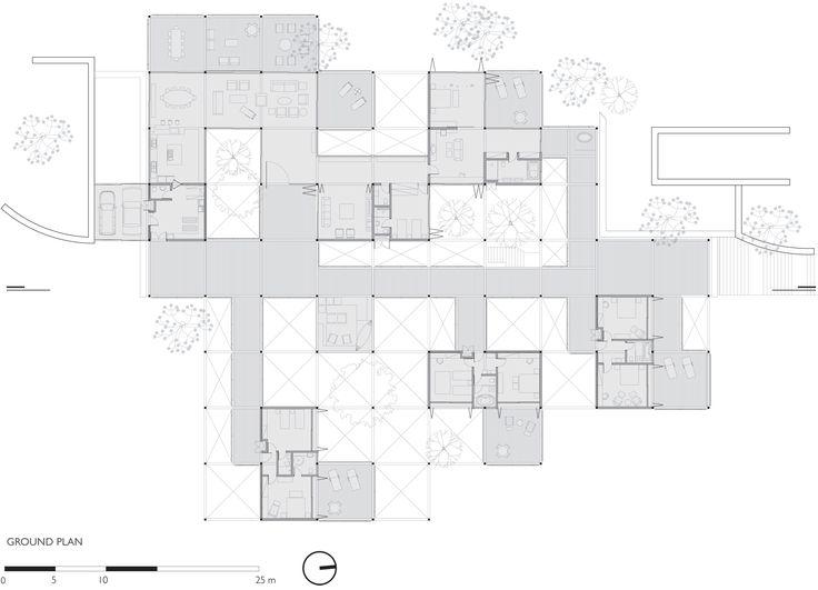 Grid House Floor Plan
