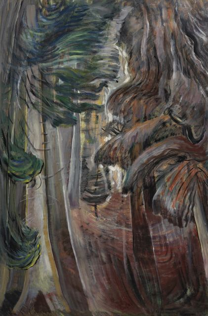 "Emily Carr, ""Inside a Forest"" (c. 1935)"