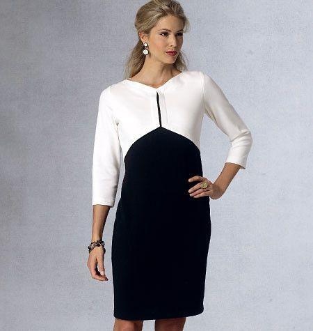 V1431 Misses' Dress