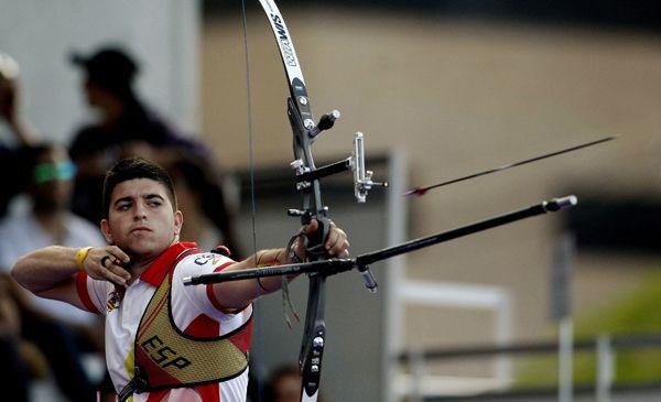 Tiro con arco, claves de redacción http://www.fundeu.es/recomendacion/tiro-con-arco-juegos-olimpicos/ Foto: © Archivo Efe/ Luis Eduardo Noriega