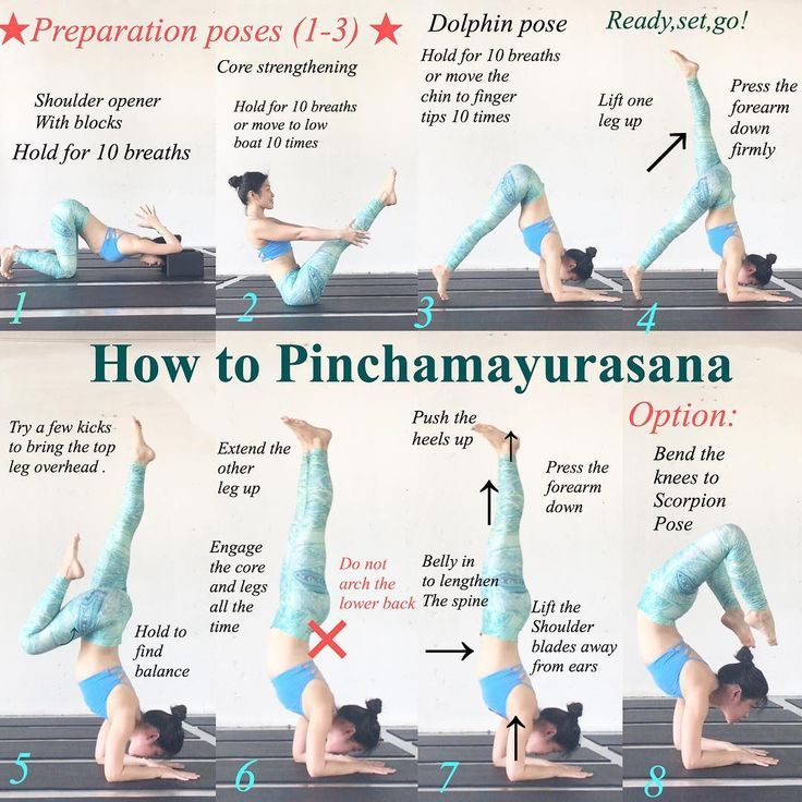 25 + › Tag 19 von # yoga4growth ist #pinchamayurasana #forearmbalance. Der Schlüssel zum Halten …