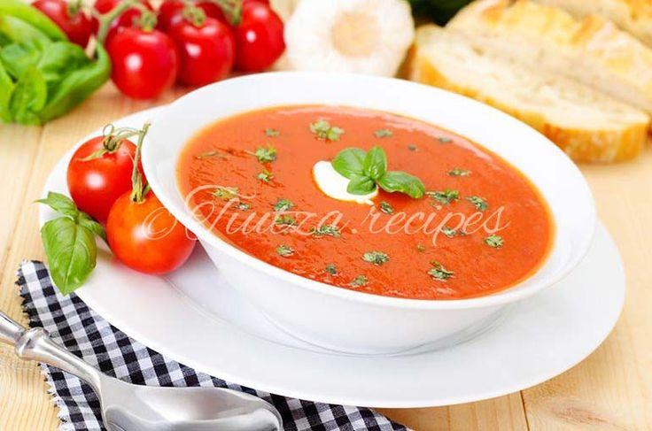 Tomato soup https://tiutza.recipes/ciorbe/supa-de-rosii/
