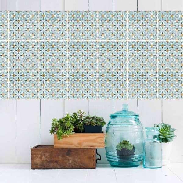 Stickerfliesen Turkis Muster Mil Mint Grun Peppermint Wohnen Einrichten Einrichtung Deko Dekoideen Einric Fliesen Mobel Shop Fruhlingsfarben