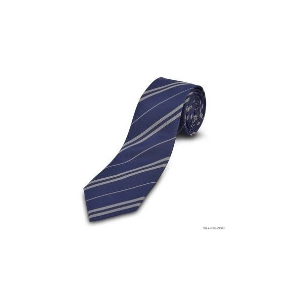 Authentic Ravenclaw™ Tie | Accessories | Warner Bros Studio Tour... ($30) via Polyvore featuring accessories and ravenclaw
