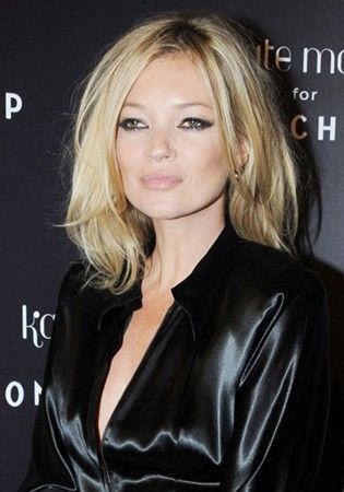 Kate Moss's divine hairstyle