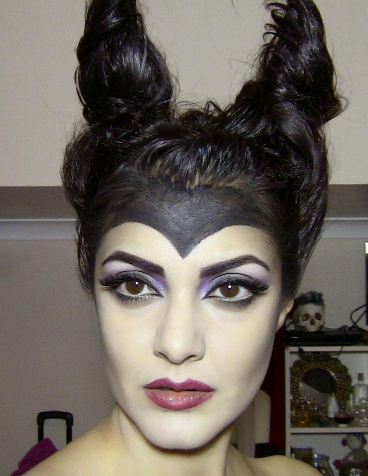 Maleficent (Angelina Jolie) inspired makeup tutorial | Krystle Tips