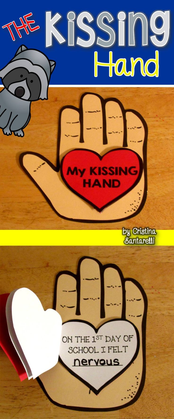 The Kissing Hand!                                                                                                                                                     More