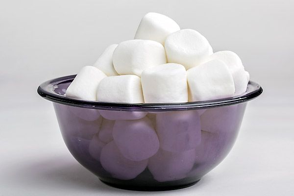 Marshmallows make for a sweet sore throat remedy.