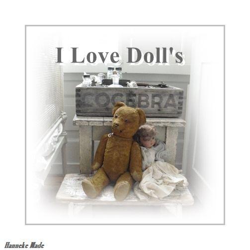 I love Bears & Doll's
