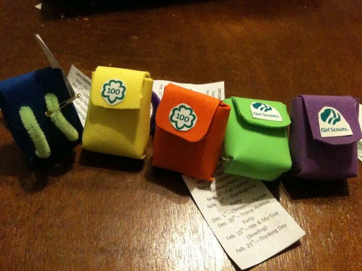 girl scout swaps | Backpack SWAPS made for registering girl scouts. SWAP ... | Girl Scout