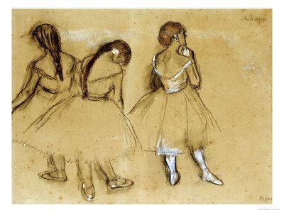 Degas: Dancers.