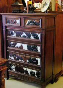 images of rustic cowhide bedroom furniture | ... furniture, Lighting, mountings, Wood furniture, Rustic furniture