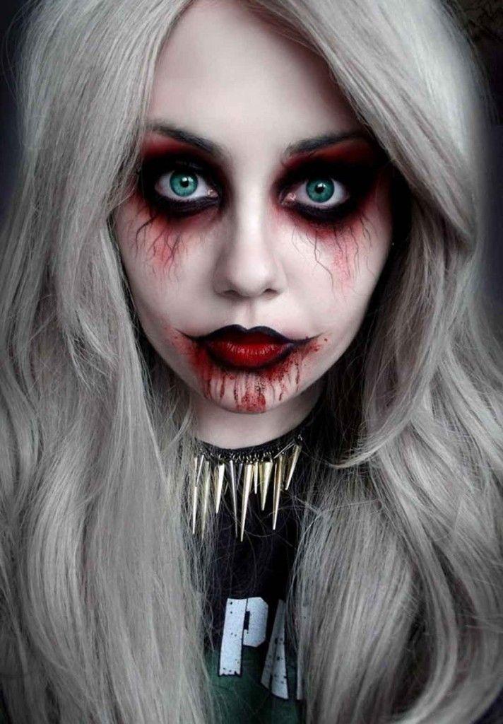 clown makeup halloween google search - Girl Halloween Masks
