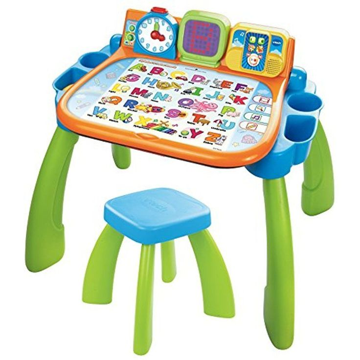VTech Touch and Electronic Learning Toys Learn Activity Desk (Frustration Free #VTech