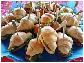 Vivi in cucina: Cornettini salati da buffet