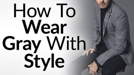 How To Leverage The Color Gray In Your Wardrobe