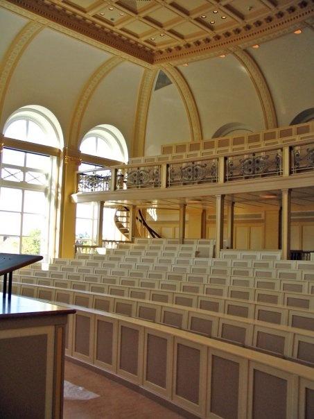 The historic Lorentz hall - where Einstein once taught