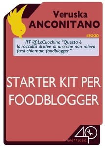 """""""Starter Kit per Foodblogger."""" Finito adesso. Che delizia. #ricette #cibo #ebook"""