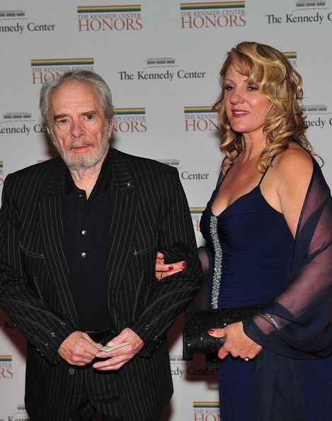 Merle Haggard Wife | Merle Haggard (AFP OUT) Merle Haggard, one of the 2010 Kennedy Center ...