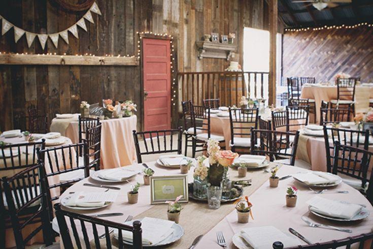 Blush Rustic & Vintage Wedding