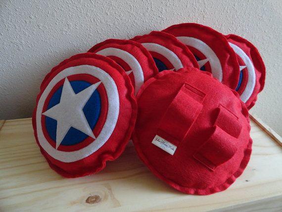Escudo de Capitán América por JulieMarieKids en Etsy