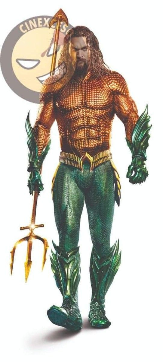 LEAKED image of Aquaman in his OG suit from the Aquaman ...