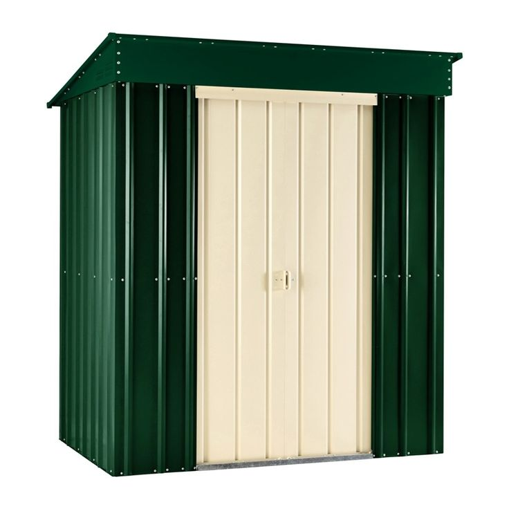 Brand New For The Lotus Metal Pent Shed Is A Robust Model Manufactured With  High Tensile Hot Dipped Galvanised Steel.