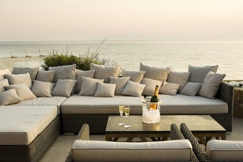 .Beach Home, Outdoor Seats, Beach House, Outdoor Living, Dreams House, Comfy Couch, Back Porches, Places, Beachhouse