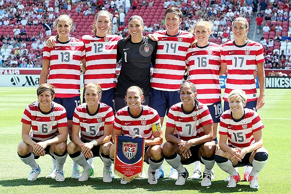 The U.S. women's soccer team will open its Olympic tournament on July 25 against France.