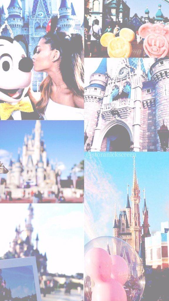 ♡ Wallpaper Lockscreen Ariana Grande na Disney 2014